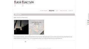 Website FurniFunction Interieurbouw en projectbegeleiding