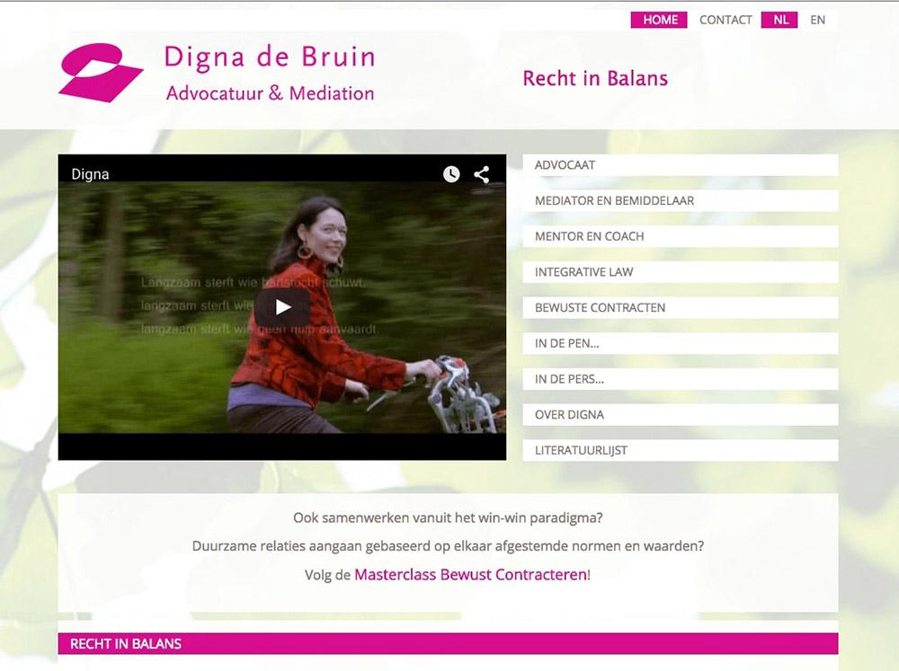 Fiets Digna de Bruin Conscious Contracts Frisse wind door Advocatuur foto Louis Spoelstra