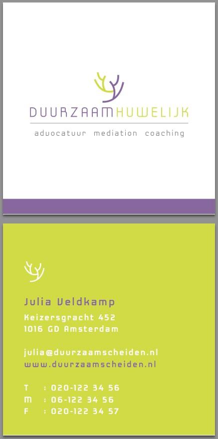Website Duurzaam Huwelijk mediation logo concept vormgeving Tambajong